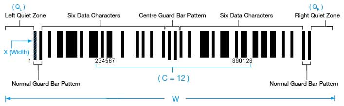 Setting EAN-13 Barcode Size in C# - OnBarcode com