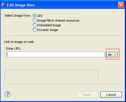 Streaming Barcodes into Eclipse BIRT Reports Image Items